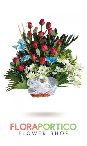 Basket of Flowers 1