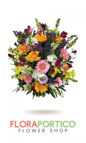 Basket of Flowers 2