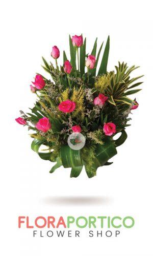 Basket of Flowers 4