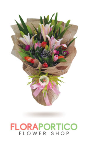 bouquet of stargazer 1