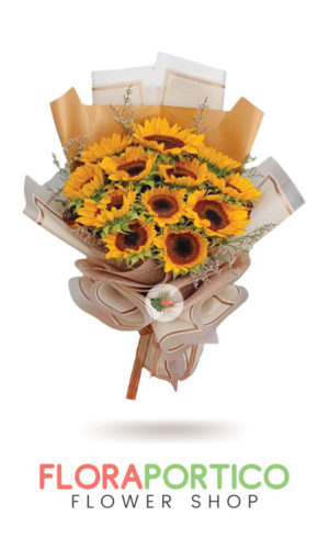 Bouquet of Sunflowers 1