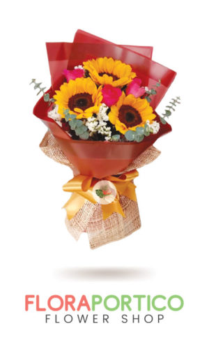 Bouquet of Sunflowers 3
