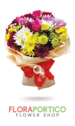 Bouquet of Mums 3