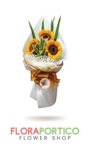 Bouquet of Sunflowers 4
