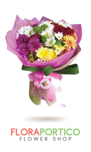 Bouquet of Mums 5
