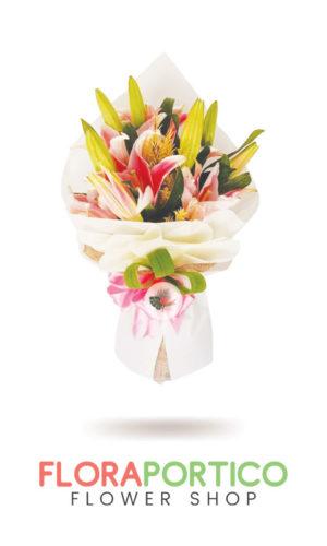 Bouquet of Stargazers 6