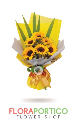 Bouquet of Sunflowers 8